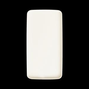 Teller reckteckig, Länge: 31 cm, Mekkano Cream
