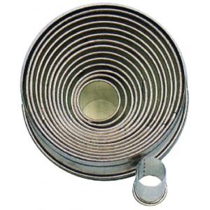 Ausstechformen rund, glatt, Ø = 2 – 11 cm