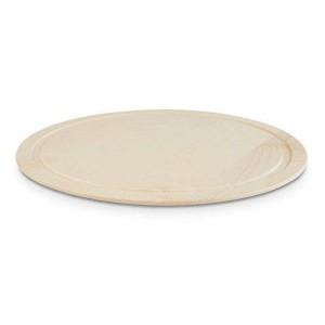 Platte rund, Ø = 38,5 cm, Wood, Eiche natur