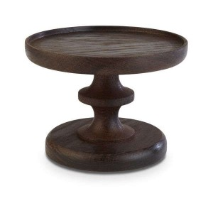 Platte rund, Ø = 15 cm, Wood, Eiche dunkel