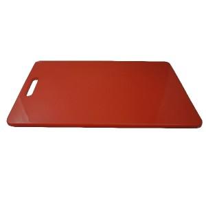 Schneidebrett rechteckig, HACCP, Länge: 40 cm, rot