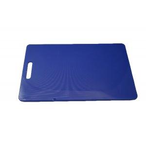 Schneidebrett rechteckig, HACCP, Länge: 40 cm, blau