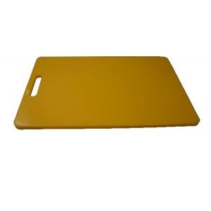 Schneidebrett rechteckig, HACCP, Länge: 40 cm, gelb