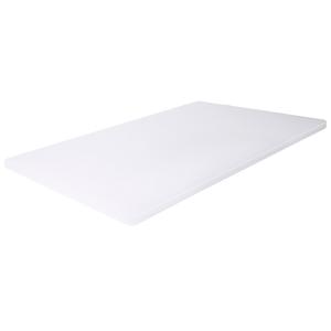 Schneidbrett rechteckig, Länge: 45 cm, weiß