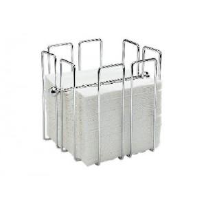 Serviettenhalter Wire, verchromt, 19 x 19 x 19 cm