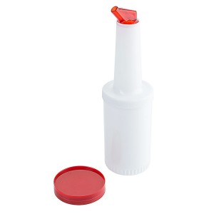 Servierflasche / Vorratsbehälter Store'n Pour, rot