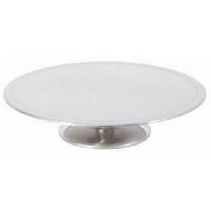 Tortenplatte auf breitem Fuß, Ø = 31 cm