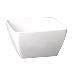 Schale, Länge: 12,5 cm, Pure Color, Melamin, weiß