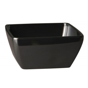 Schale, Länge: 12,5 cm, Pure Color, Melamin, schwarz