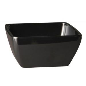 Schale, Länge: 19 cm, Pure Color, Melamin, schwarz