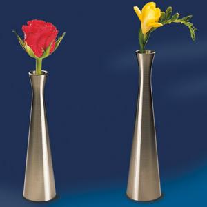 Vase, Edelstahl-Look, Höhe: 20 cm