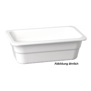 GN-Behälter GN 2/3-65, APS, Melamin, elfenbein