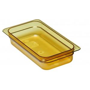 GN-Behälter 1/3-65, Cambro, Kunststoff, bernstein