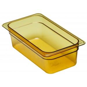 GN-Behälter 1/3-100, Cambro, Kunststoff, bernstein