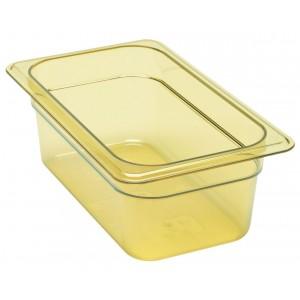 GN-Behälter 1/4-100, Cambro, Kunststoff, bernstein