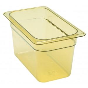 GN-Behälter 1/4-150, Cambro, Kunststoff, bernstein