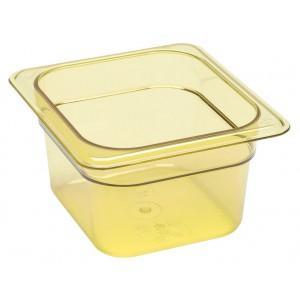 GN-Behälter 1/6-100, Cambro, Kunststoff, bernstein