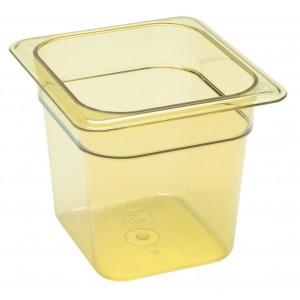 GN-Behälter 1/6-150, Cambro, Kunststoff, bernstein