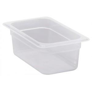 GN-Behälter 1/4-100, Cambro, Polypropylen, transparent