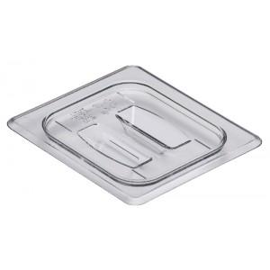 GN-Deckel 1/6, mit Griff, Cambro, Polycarbonat, transparent