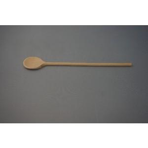 Holz-Kochlöffel rund, 32 cm