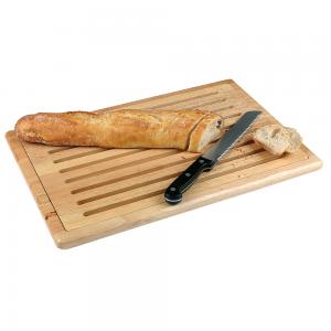 Brotschneidbrett mit Krümelgitter, Länge: 48 cm