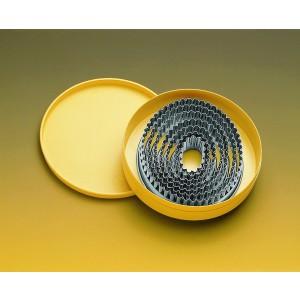 Ausstechersatz oval gezackt, 7-tlg., Ø = 2,9/4,8 – 11,5/13,5 cm