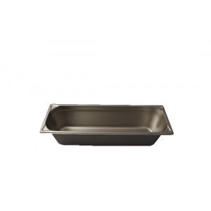 GN-Behälter 2/4-150, Blanco, Edelstahl, ohne Griffe