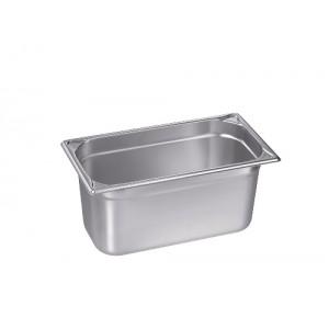 GN-Behälter 1/3-150, Blanco, Edelstahl, ohne Griffe