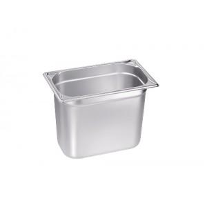 GN-Behälter 1/4-200, Blanco, Edelstahl, ohne Griffe