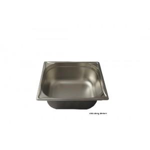 GN-Behälter 2/1-150, Blanco, Edelstahl, ohne Griffe