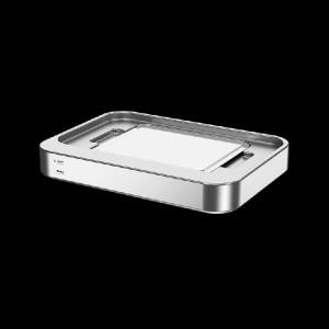 Auftischgerät zum Warm-/Kalthalten, K-Pot 1/1 passiv, Edelstahl