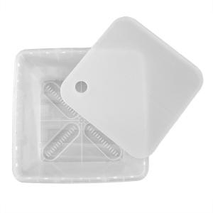 Bodenplatte, transparent zu Box / Transsport- und Lagerbehälter