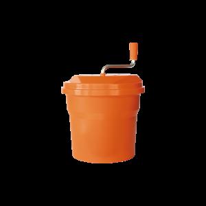 Salatschleuder, manuell, Kunststoff 10l