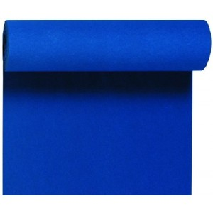 Tischläufer Tête-à-Tête, dunkelblau, 0,40 x 24 m