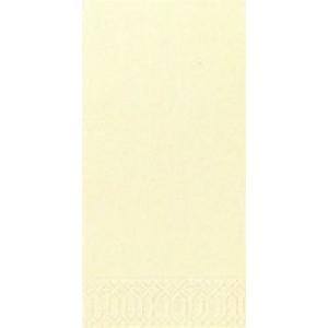 Serviette, Zelltuch, cream, 33 x 33 cm