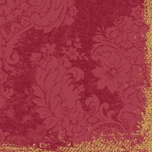 Serviette, Dunilin, Royal Bordeaux, 40 x 40 cm