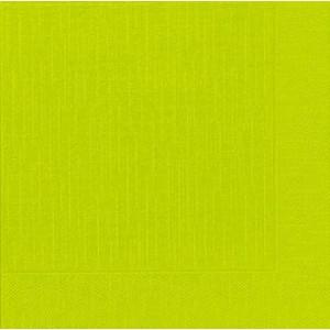 Serviette, Klassik, kiwi, 40 x 40 cm