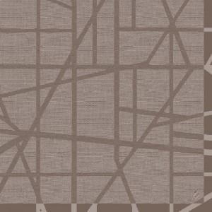 Serviette, Dunilin, Maze greige, 40 x 40 cm