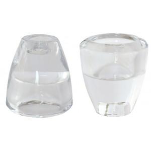 Kerzenhalter, 2 in1, klar
