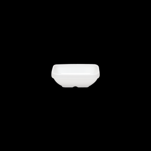 Salatschale eckig, Länge: 11,7 cm, Krankenhausform