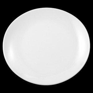 "Teller flach oval, Länge: 25 cm, Meran ""Steak and more"""