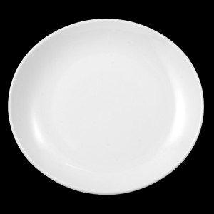 "Teller flach oval, Länge: 27 cm, Meran ""Steak and more"""