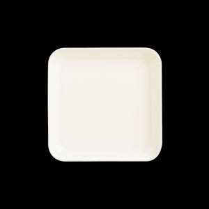 Teller quadratisch, Länge: 24 cm, Mekkano Cream