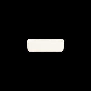 Schale rechteckig, Länge: 14,9 cm, Mekkano Cream