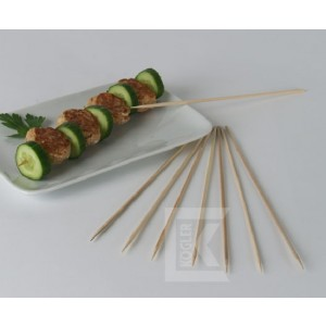 Bambusspieße/Schaschlikspieße, 30 cm