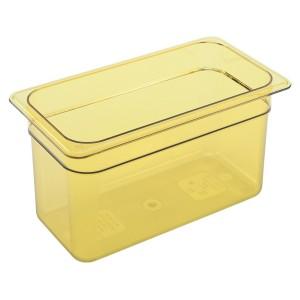 GN-Behälter 1/3-150, Cambro, Kunststoff, bernstein