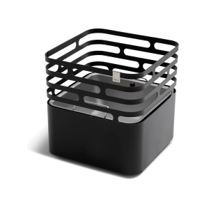 Feuerkorb schwarz, Cube