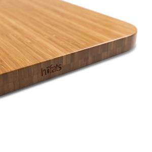 Auflagebrett, Bambus, Länge: 42 cm, Cube