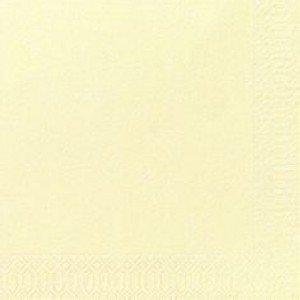 Serviette, Zelltuch, champagne, 33 x 33 cm